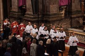 new liturgical movement good friday liturgy of the passion at the