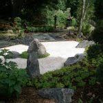 japanese rock garden pool traditional with backyard waterfall san