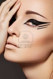 Eyeliner Halloween Makeup by 77 Best Awesome Makeup Models Images On Pinterest Make Up