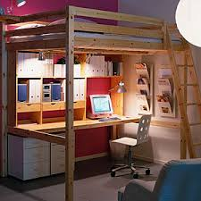 Ikea Loft Bed Review Bunk Bed With Desk Ikea Ikea Stora Queen Sized Solid Pine Loft Bed