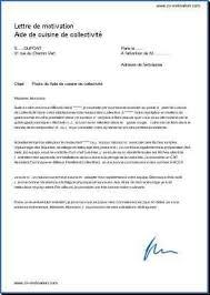 lettre de motivation cuisine collective lettre de motivation cuisine élégant 4 lettre de motivation cuisine