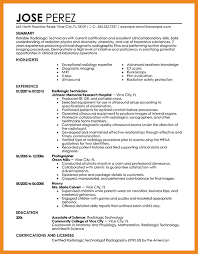 Sonographer Resume Sample by Resume For Entry Level Journalism