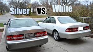 2001 lexus es300 interior 2001 lexus es300 sedan silver vs white comparison 4th u0026 11th