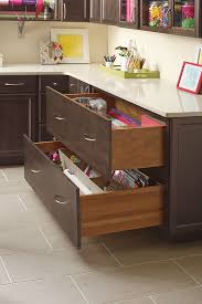 Craft Room Storage Furniture - craft room storage cabinets schrock cabinetry