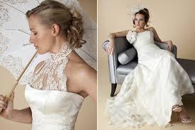 vintage inspired bridal look from london based wedding dress