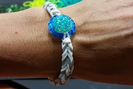 Ideen Mit Steinen Ideen Mit Herz Loom Bänder Armband Idee Nr 4 Mit Ring
