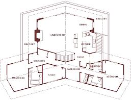 symmetrical house plans hillside ranch house
