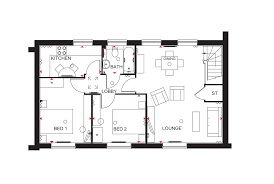 2 bedroom in ripley view at great denham flat plot 339