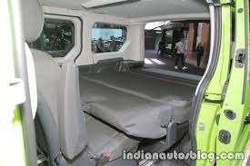 opel vivaro 2017 opel vivaro life interior at iaa 2017 indian autos blog