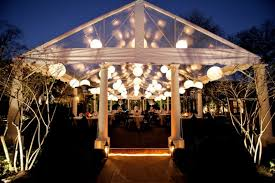Amazing Garden Wedding Lights