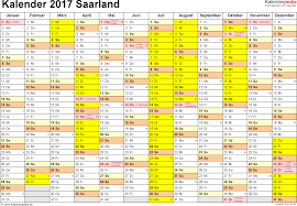 Kalender 2018 Mit Feiertagen Saarland Kalender 2017 Saarland Ferien Feiertage Pdf Vorlagen
