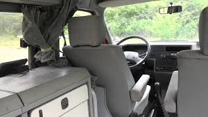 volkswagen eurovan camper interior vw t4 camper van with carthago conversion youtube