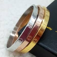 stainless steel love bracelet images 18k rose gold gold silver plated stainless steel carter screw love jpg