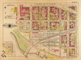 Crestwood Map Map Of The Southwest Waterfront In 1909 Ghosts Of Dc
