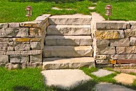retaining wall block ideas for diy landscape design