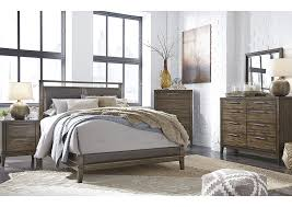 american furniture galleries zilmar walnut brown california king