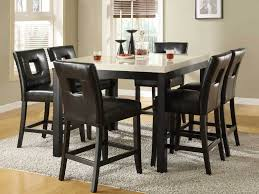 target dining tables large rectangle dark brown wood target dining