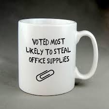 office supplies 15 oz coffee mug novelty boss employee
