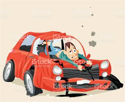 wrecked car clipart car crash graphic art free licensed stock vector art 165786611