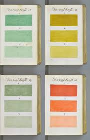 Pantone Colors by 271 Years Before Pantone An Artist Mixed And Described Every