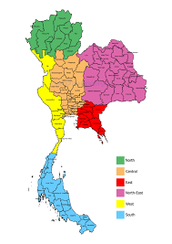 map of thailand map of thailand learn thai with mod