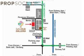 Starville Floor Plan by Condominium For Sale At Setia Walk Pusat Bandar Puchong By