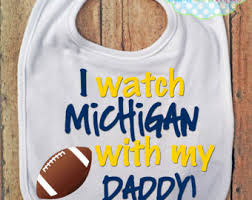 michigan wolverines fan gear excuse the spit up bib lsu tigers football baby fan gear