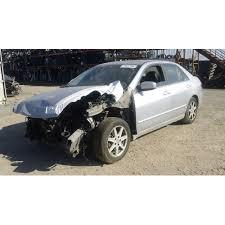 honda accord 2003 black used 2003 honda accord parts car silver with black interior 4
