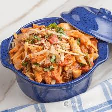 Pasta Sausage Penne With Vodka Sauce Chew Out Loud
