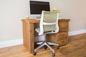 Small Desk Reclaimed Rustic Wood Hudson Small Desk Eat Sleep Live
