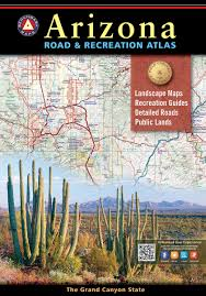 Road Map Arizona by Arizona Road U0026 Recreation Atlas U2014 Benchmark Maps