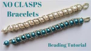 beading bracelet clasp images Beading tutorial beaded bracelet without clasps very easy jpg