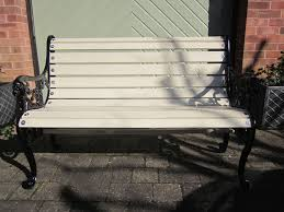 Wrought Iron Bench Wood Slats Cast Iron Bench Slats Med Art Home Design Posters