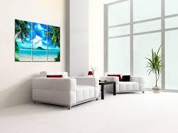 amazon com large canvas print wall art caribbean island 48x30