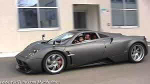 future pagani pagani test driver takes his son on a joy ride youtube