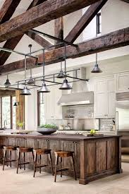 barn kitchen ideas kitchen brown wall cabinets homes barn country color island