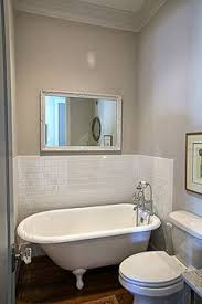 bathroom designs with clawfoot tubs pony wall separating clawfoot tub and shower nespiration