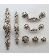 antique looking cabinet hardware french shabby chic dresser drawer pulls handles antique silver
