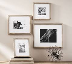 Rustic Wood Ledge Pottery Barn Wood Gallery Single Opening Frames Pottery Barn