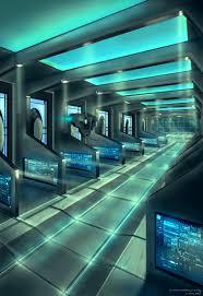 spaceship interior by capottolo deviantart com on deviantart