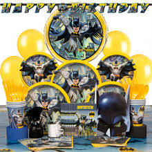 batman party supplies batman