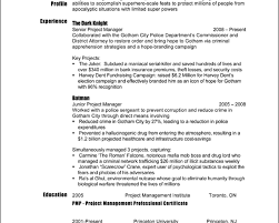 Resume Samples Project Manager by Resume Help Project Manager
