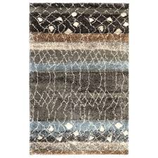 Ebay Area Rugs Carpet Art Deco Eternity Multi 8 Ft X 10 Ft Area Rug Rgar058854