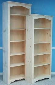 Bookcase 24 Wide Quality Wood Furniture Unfinished Bookcases Leesville Louisiana
