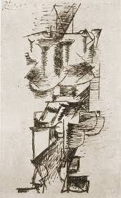 Picasso Still Life With Chair Caning 1912 Pablo Picasso Still Life With Chair Caning 1911