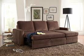 brown microfiber sofa bed living room amazing furniture maximizing small living room spaces