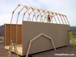 Gambrel Barns by Tall Gambrel Barn Style Sheds