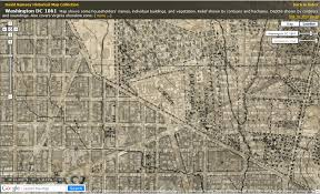 Washington Dc Maps Historic Dc Maps City Block