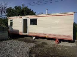 static caravan 10 ft x 23 ft one bedroom in st agnes cornwall