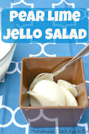 jello salad for thanksgiving pear lime jello salad